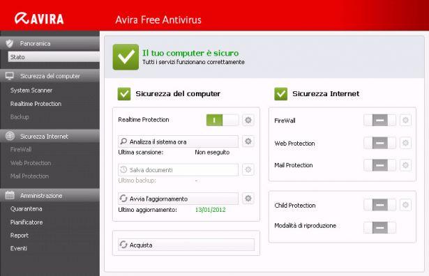 Avira Antivirus 2012 Free